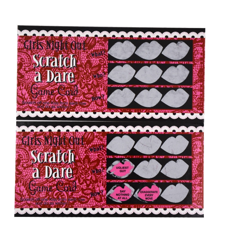 Bachelorette Party Card Game Set 12 Pcs