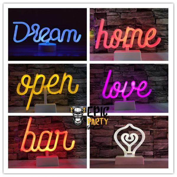 LED Art Letter Decoration