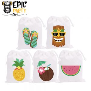 Hawaii Theme Party Bags