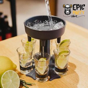 6 Shot Liquor Glass Dispenser