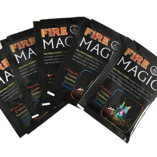 10g 15g 25g Magic Fire Colorful Flames Powder Bonfire Sachets Pyrotechnics Magic Trick Outdoor Camping Hiking 1