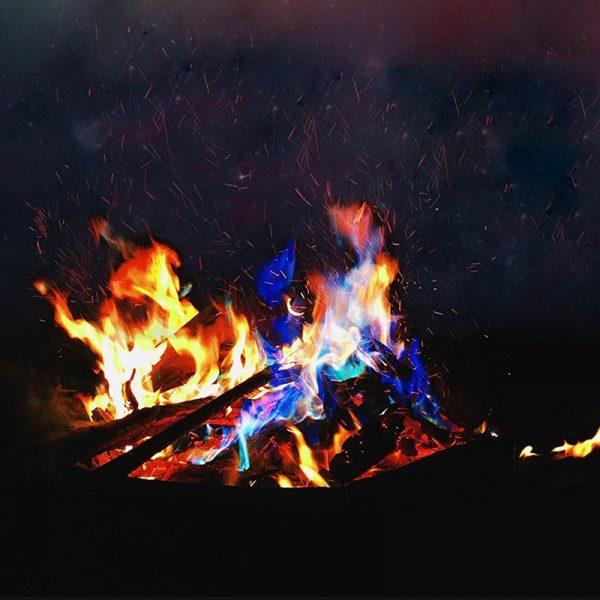 10g 15g 25g Magic Fire Colorful Flames Powder Bonfire Sachets Pyrotechnics Magic Trick Outdoor Camping Hiking 3