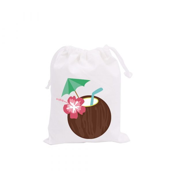 Happy Hour Hawaii Theme Party Favor Bags Candy Bags Holiday Happy Vacation Party Gift Bags Kids 1