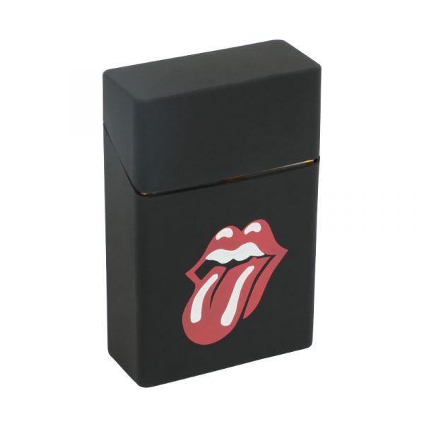 Hold 20 Cigarettes Ladies Silicone Cigarette Case Cover Man Women Smoking Cigarette Box Sleeve Pocket Cigarettes 1