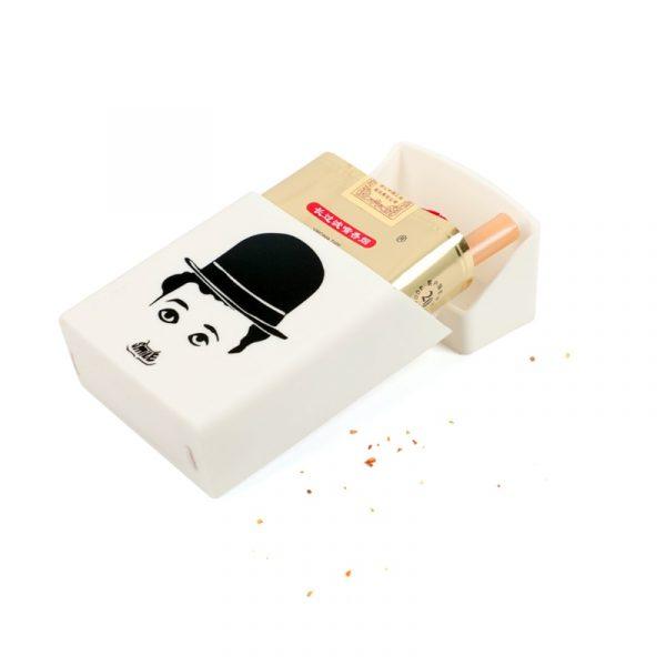Hold 20 Cigarettes Ladies Silicone Cigarette Case Cover Man Women Smoking Cigarette Box Sleeve Pocket Cigarettes 3