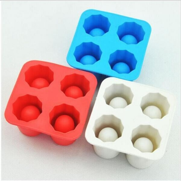 Hot New ONLY Bar Party Drink Ice Tray Cool Shape Ice Cube Freeze Mold Ice Maker