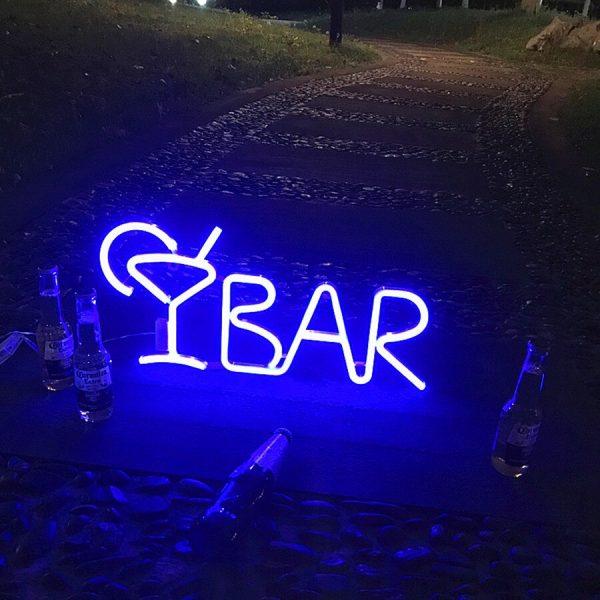 New Cute Bar Neon Sign LED Rainbow Light Lamp for Dorm Decor Bar Decor Neon Lamp 1