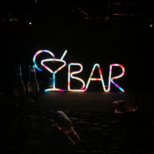 New Cute Bar Neon Sign LED Rainbow Light Lamp for Dorm Decor Bar Decor Neon Lamp 3