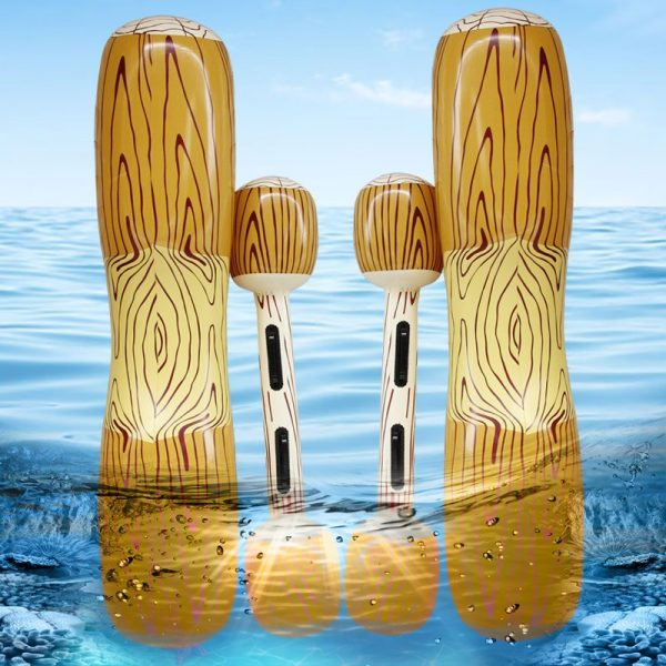 Summer Inflatable Pool Beach Pool Inflatable Swimming Rings Universal Double Beat Swim Log Stick Set Ring 1