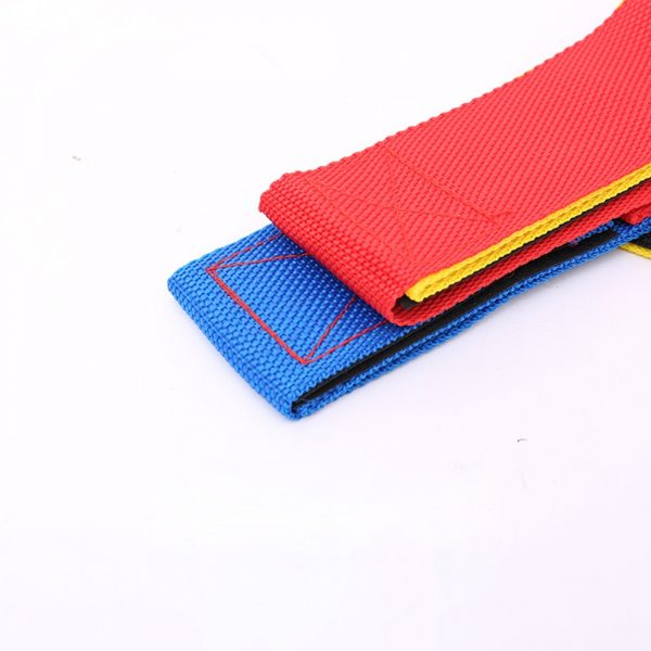 Giant Footsteps 4 Legged Race Bands Children Outdoor Sports Toys Outdoor Game for Kids Adults Teamwork 2