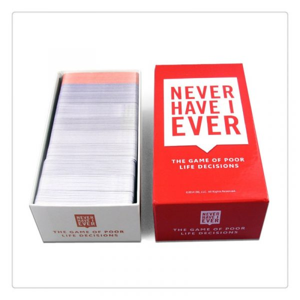 550 Cards Never Have Deluxe Box Mega Set Board Game I Ever Bar Night Club KTV 1
