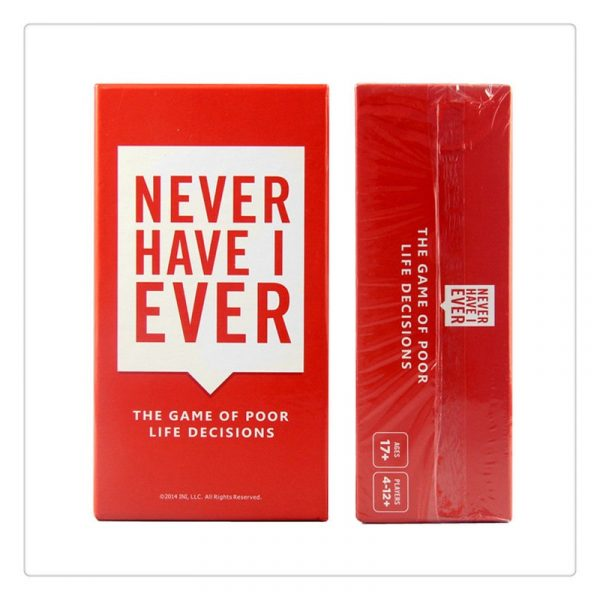550 Cards Never Have Deluxe Box Mega Set Board Game I Ever Bar Night Club KTV